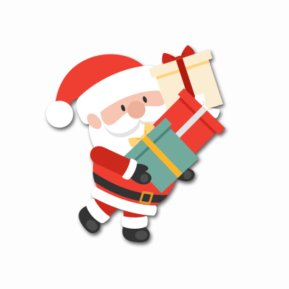 Xmas Santa Stickers messages sticker-3