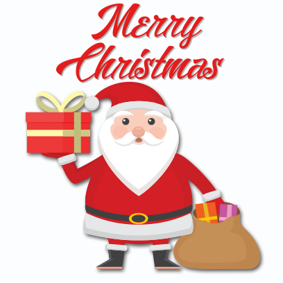 Xmas Santa Stickers messages sticker-7