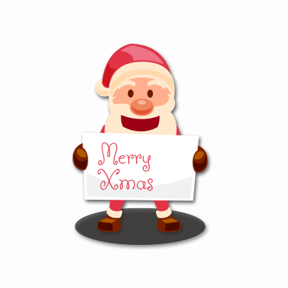 Xmas Santa Stickers messages sticker-10