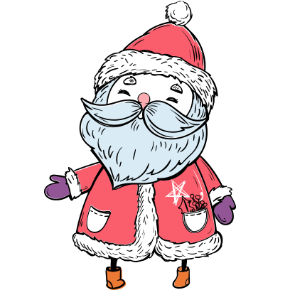 Christmas adorable stickers for iMessage merry messages sticker-0