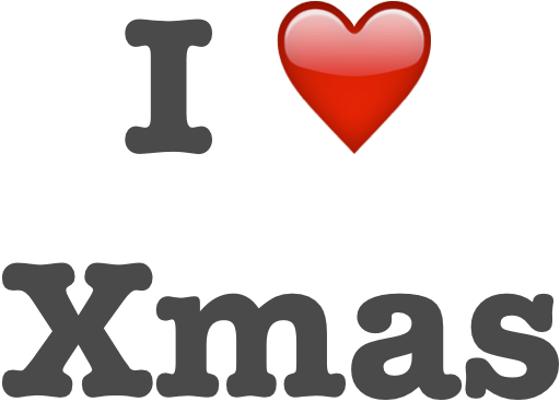 I Love Xmas Stickers Pack messages sticker-0