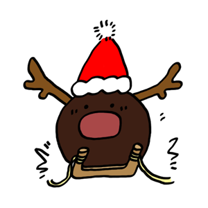 GUJI'S CHRISTMAS − NHH Stickers messages sticker-3