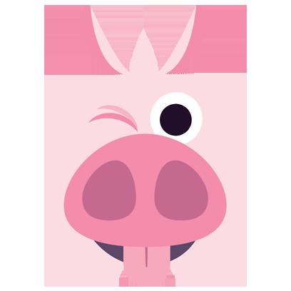 Piggymoji messages sticker-7