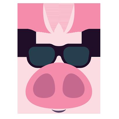 Piggymoji messages sticker-10