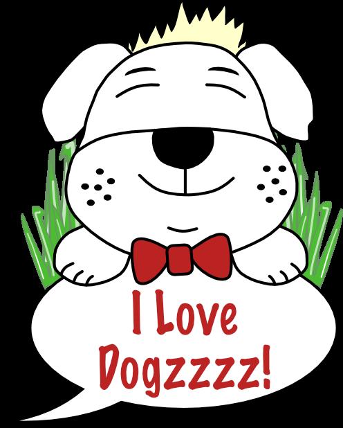 Dogzzzz - Furry & Ferocious messages sticker-0
