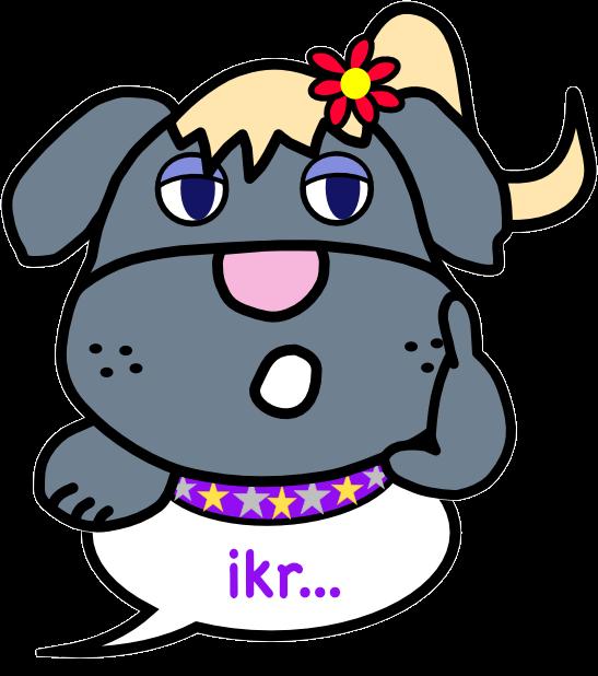 Dogzzzz - Furry & Ferocious messages sticker-9