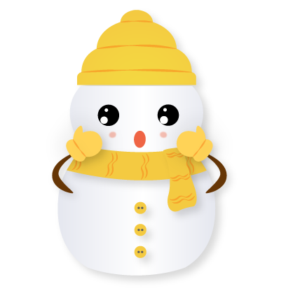 Little Snowman - Christmas Holiday Emoji messages sticker-10