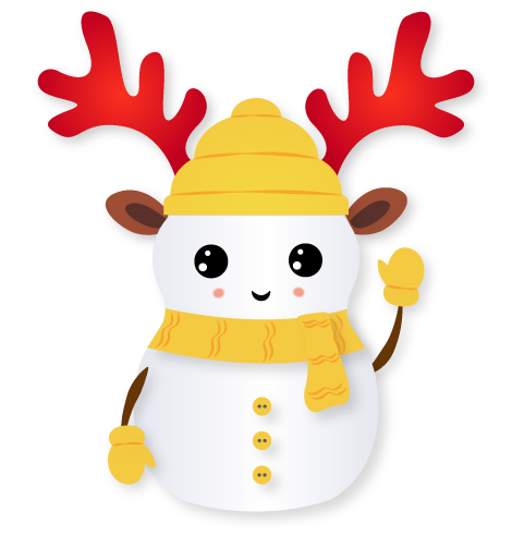 Little Snowman - Christmas Holiday Emoji messages sticker-2