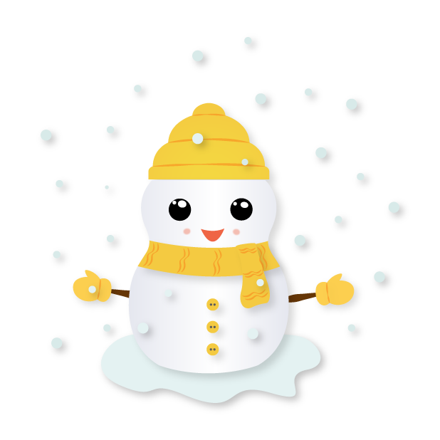 Little Snowman - Christmas Holiday Emoji messages sticker-4