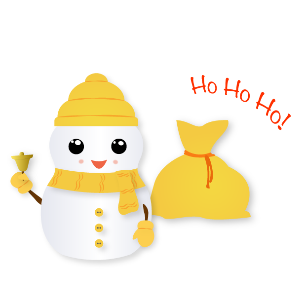 Little Snowman - Christmas Holiday Emoji messages sticker-5