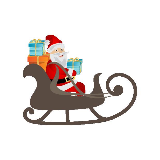 Black Santa (and White Santa!) messages sticker-7
