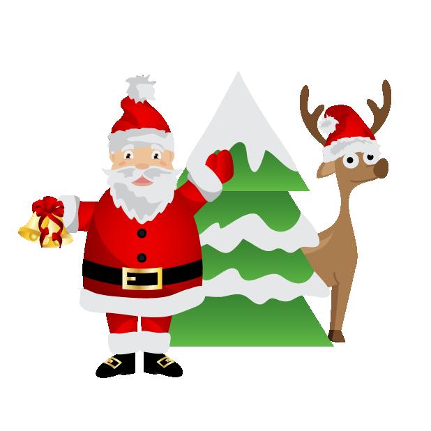 Black Santa (and White Santa!) messages sticker-2
