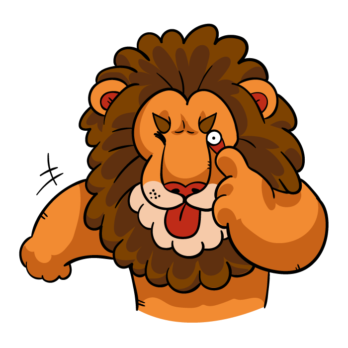Lionz messages sticker-2