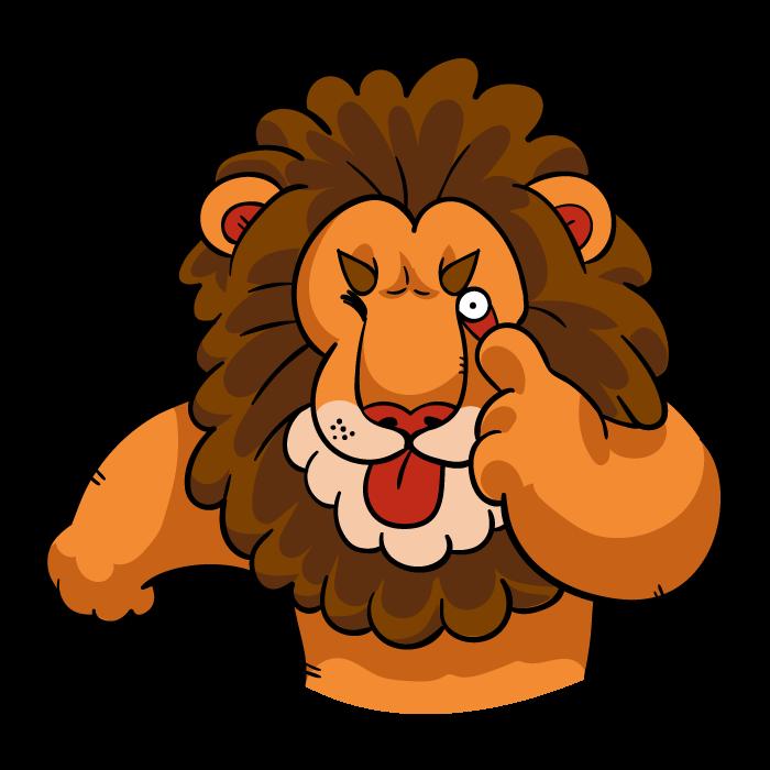 Lionz messages sticker-2