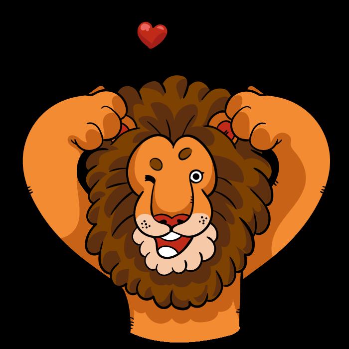 Lionz messages sticker-10