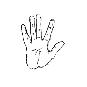 Hands Drawn messages sticker-3