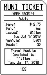 San Francisco Transit Stickers messages sticker-8