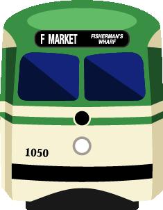 San Francisco Transit Stickers messages sticker-1