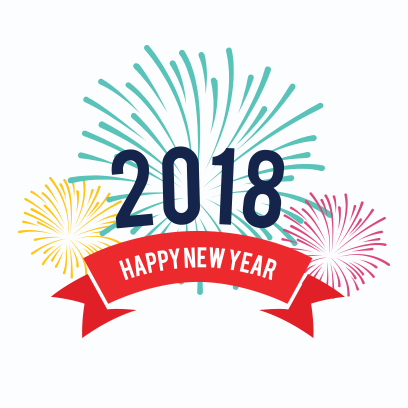Happy New Year 2018 Stickers messages sticker-6