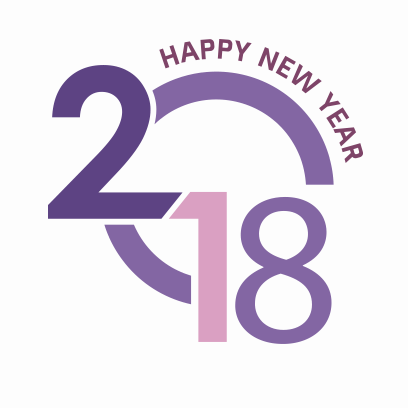 Happy New Year 2018 Stickers messages sticker-9