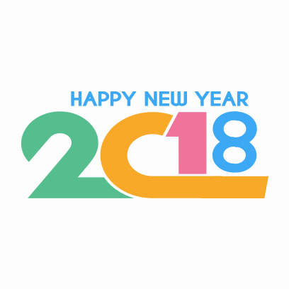 Happy New Year 2018 Stickers messages sticker-3