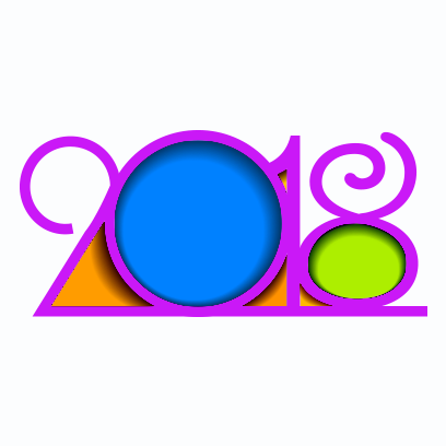 Happy New Year 2018 Stickers messages sticker-1