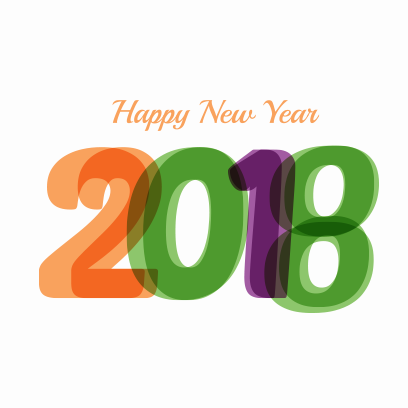 Happy New Year 2018 Stickers messages sticker-2
