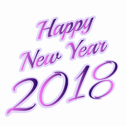 Happy New Year 2018 Stickers messages sticker-11