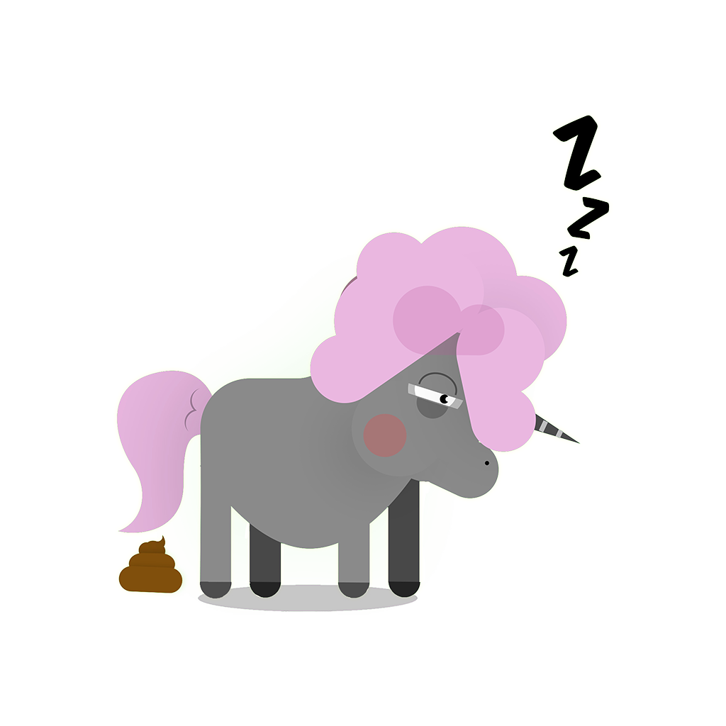 Bad Unicorn messages sticker-2