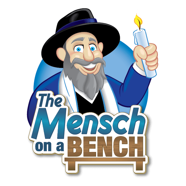 The Mensch on a Bench Stickers messages sticker-4