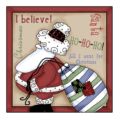 Christmas Stickers #2 for iMessage messages sticker-0