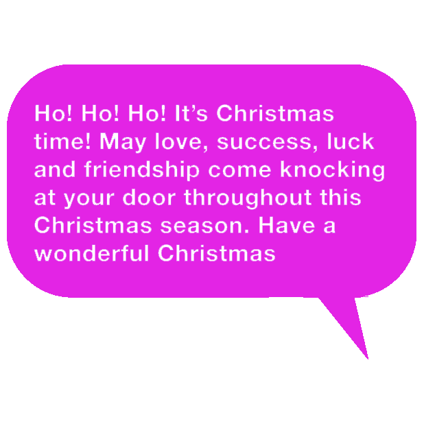 Special Messages For Christmas (Xmas) & New Years messages sticker-5