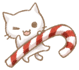 Christmas Of Cute Cat Stickers messages sticker-1