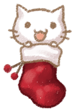 Christmas Of Cute Cat Stickers messages sticker-6