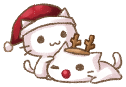 Christmas Of Cute Cat Stickers messages sticker-3