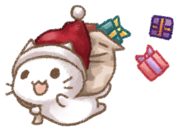 Christmas Of Cute Cat Stickers messages sticker-2