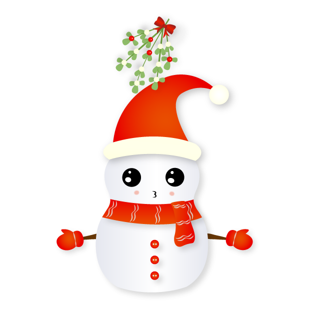 Christmas Snowman - Holiday Emoji messages sticker-3
