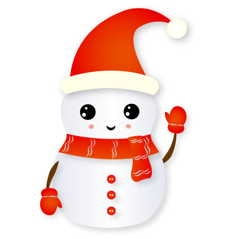 Christmas Snowman - Holiday Emoji messages sticker-8