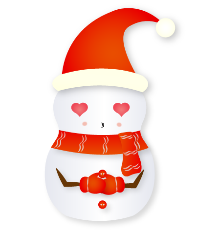 Christmas Snowman - Holiday Emoji messages sticker-7