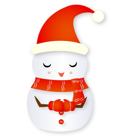 Christmas Snowman - Holiday Emoji messages sticker-11