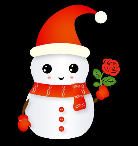 Christmas Snowman - Holiday Emoji messages sticker-6