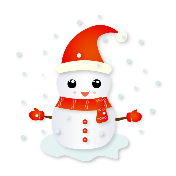 Christmas Snowman - Holiday Emoji messages sticker-4