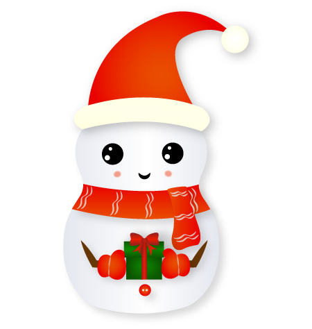 Christmas Snowman - Holiday Emoji messages sticker-1