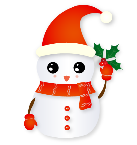 Christmas Snowman - Holiday Emoji messages sticker-0