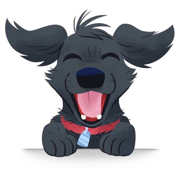 Mr. Cooper Black Dog Stickers messages sticker-4