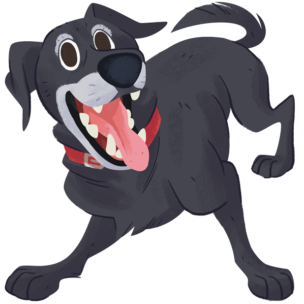 Mr. Cooper Black Dog Stickers messages sticker-11