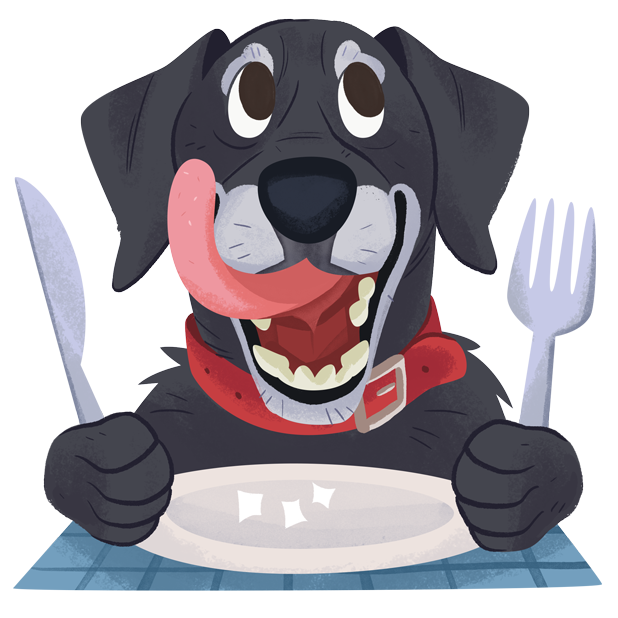 Mr. Cooper Black Dog Stickers messages sticker-9
