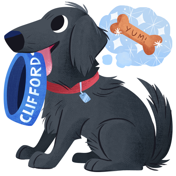 Mr. Cooper Black Dog Stickers messages sticker-3