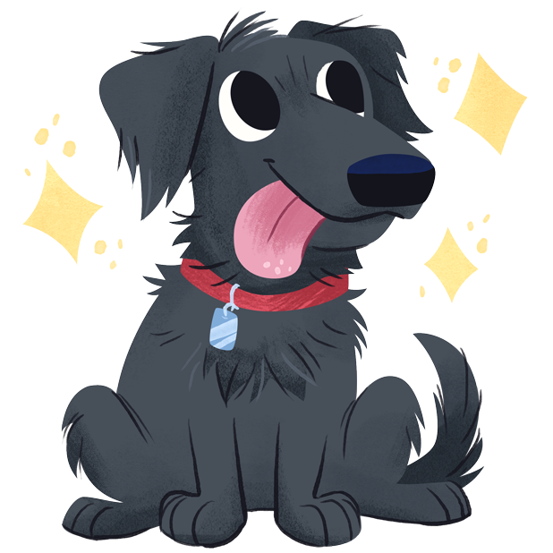 Mr. Cooper Black Dog Stickers messages sticker-5