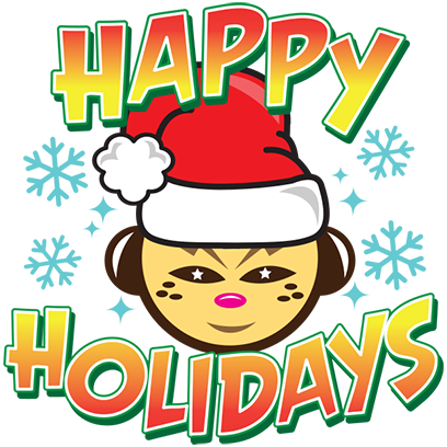 Happy Holidays Sticker Pack messages sticker-11